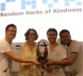 Winners At RHoK