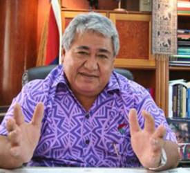 Samoa's Prime Minister Calls On Abbott To Act On Climate Change