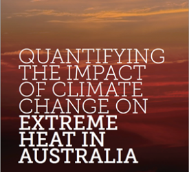 Quantifying The Impact Of Climate Change